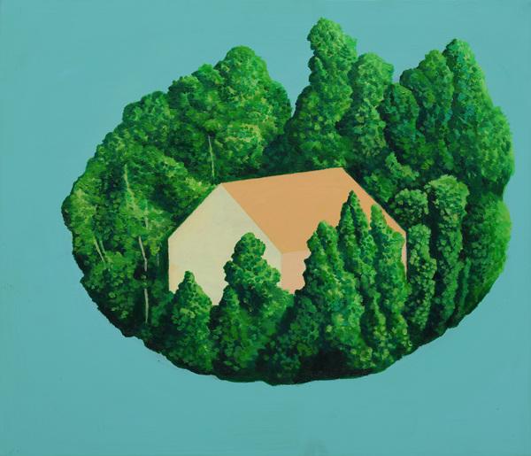 08,진미나,내안의 섬, 45.5X53cm,캔버스 위에 혼합매채,2015.jpg