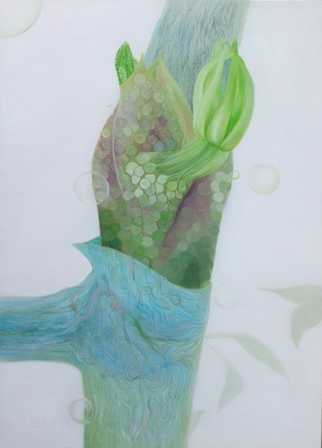 Sprout 23_Oil on canvas_90.9x65.5cm_2014.jpg