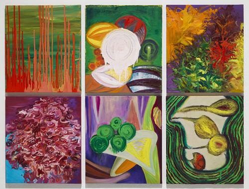 focus, oil on canvas, 53x45.5cmx6(each), 2018.jpg