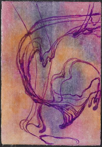 4-2.물 드로잉(water drawing), 초박순지에 붓펜 드로잉, 33×47.5cm, 2017.jpg