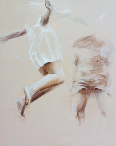 trampoline, oil on canvas, 91x72.7cm, 2011,45만원.jpg