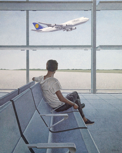 Airport 80.3 x 100.0cm oil on canvas 2018.jpg